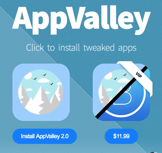 AppValley 2 for iOS 11 without Jailbreak