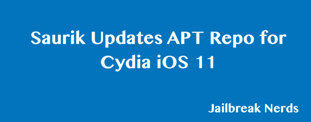 Saurik Working on Cydia iOS 11 Update