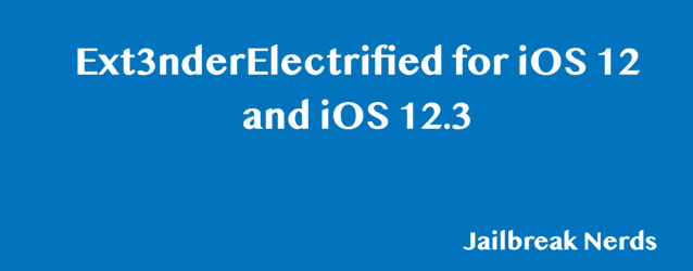 Download Ext3nderElectrified for iOS 12
