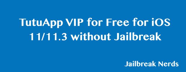 Download TutuApp VIP Free for iOS 11:11.3