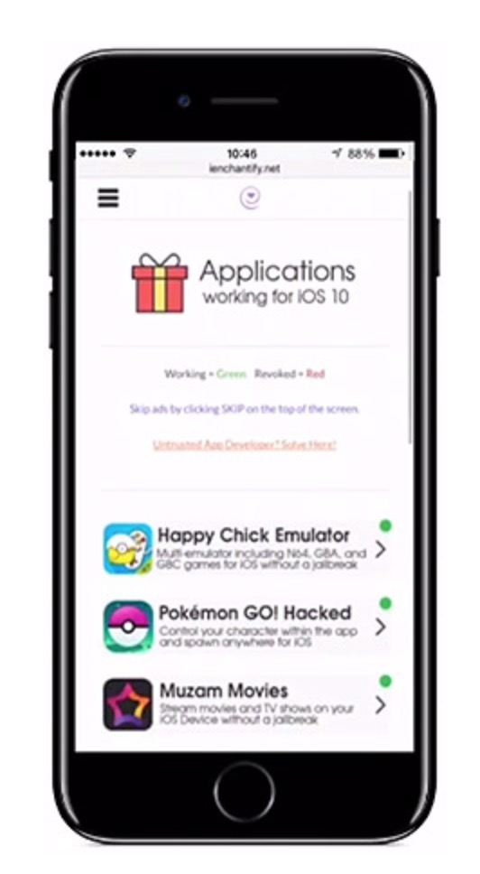 Download iEnchantify 6 0 for iOS 11 IPA and Install without