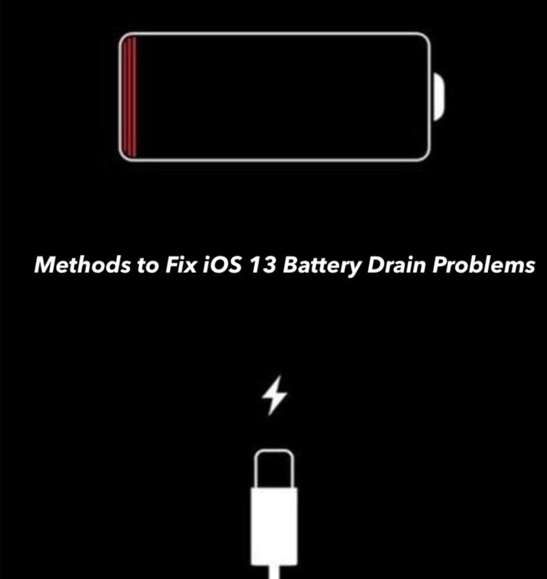 Fix iOS 13 Battery Drain Problem
