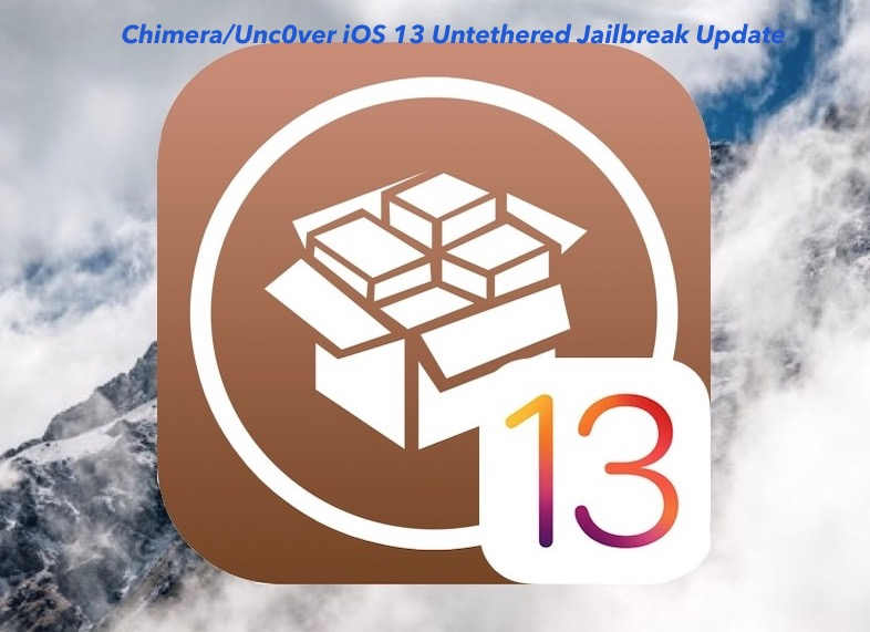 iOS 13 UnC0ver and Chimera Jailbreak
