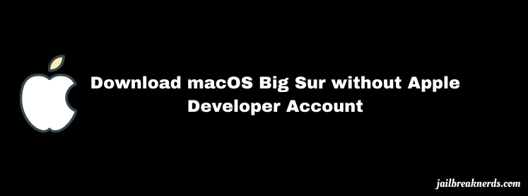 Download macOS Big Sur without Apple Developer Account (Direct Link)